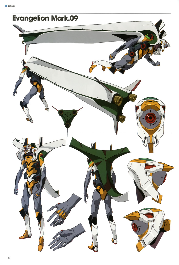 Nbos Character Sheet Designer Review : Evangelion character and mecha designs