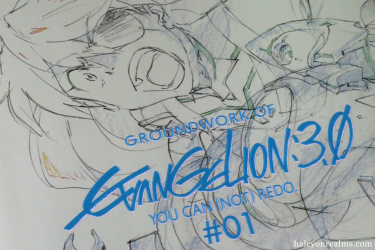 Groundwork Of Evangelion 3.0 Vol 1 Art Book