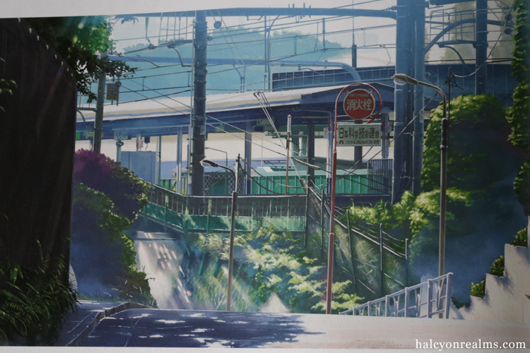 Garden Of Words Makoto Shinkai Art Book Review Halcyon