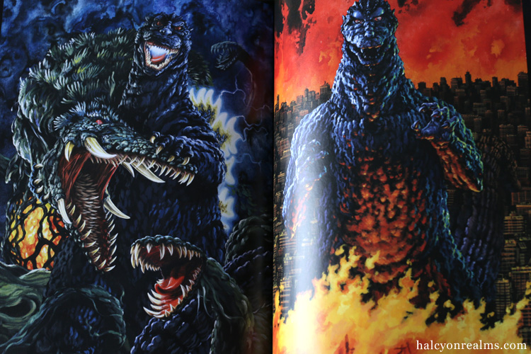 Godzilla Illustrations - Yuji Kaida Art Book Review