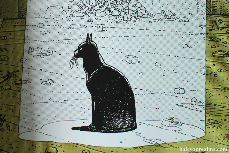 The Eyes Of The Cat - Moebius + Jodorowsky Book
