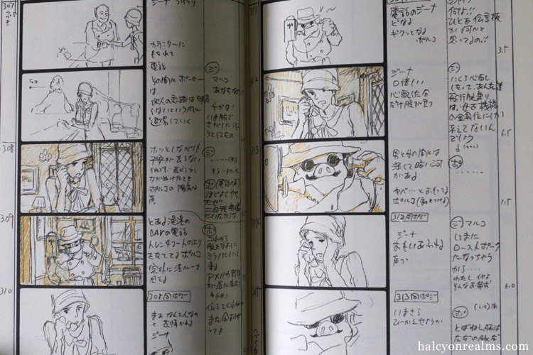 Porco Rosso Ghibli Storyboard Art Book Review