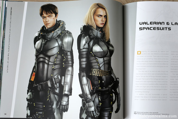 Valerian - The Art Of The Film Book Review