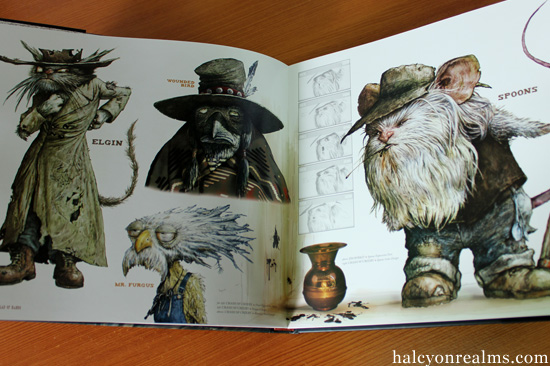 the ballad of rango art book review