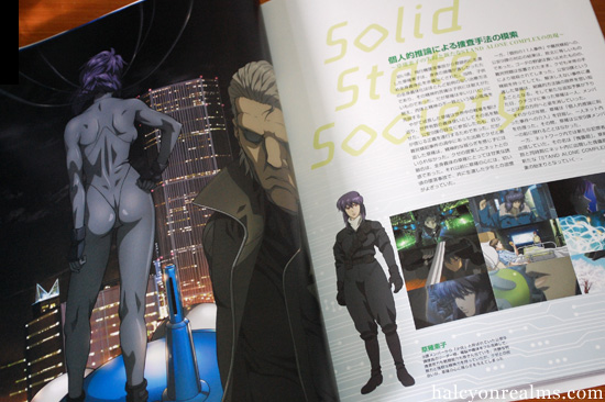 Ghost In The Shell Sac Solid State Society Art Book Review