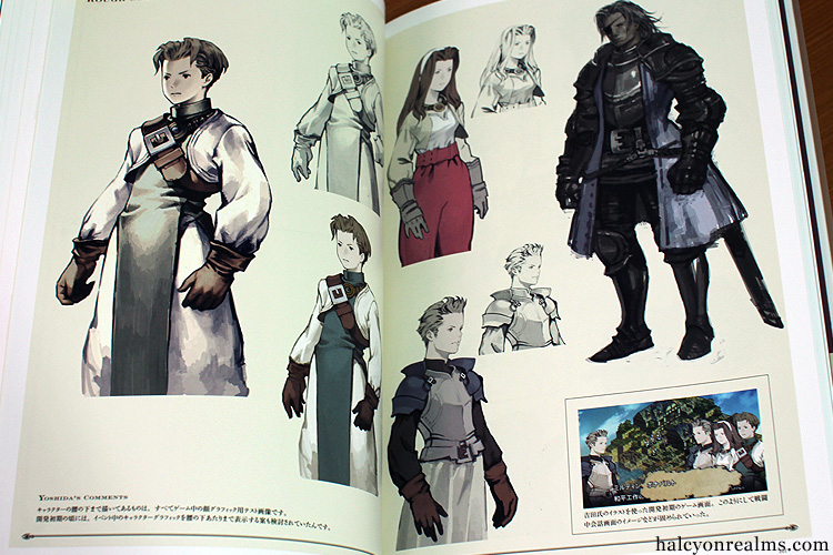 Tactics Ogre Art Works Book